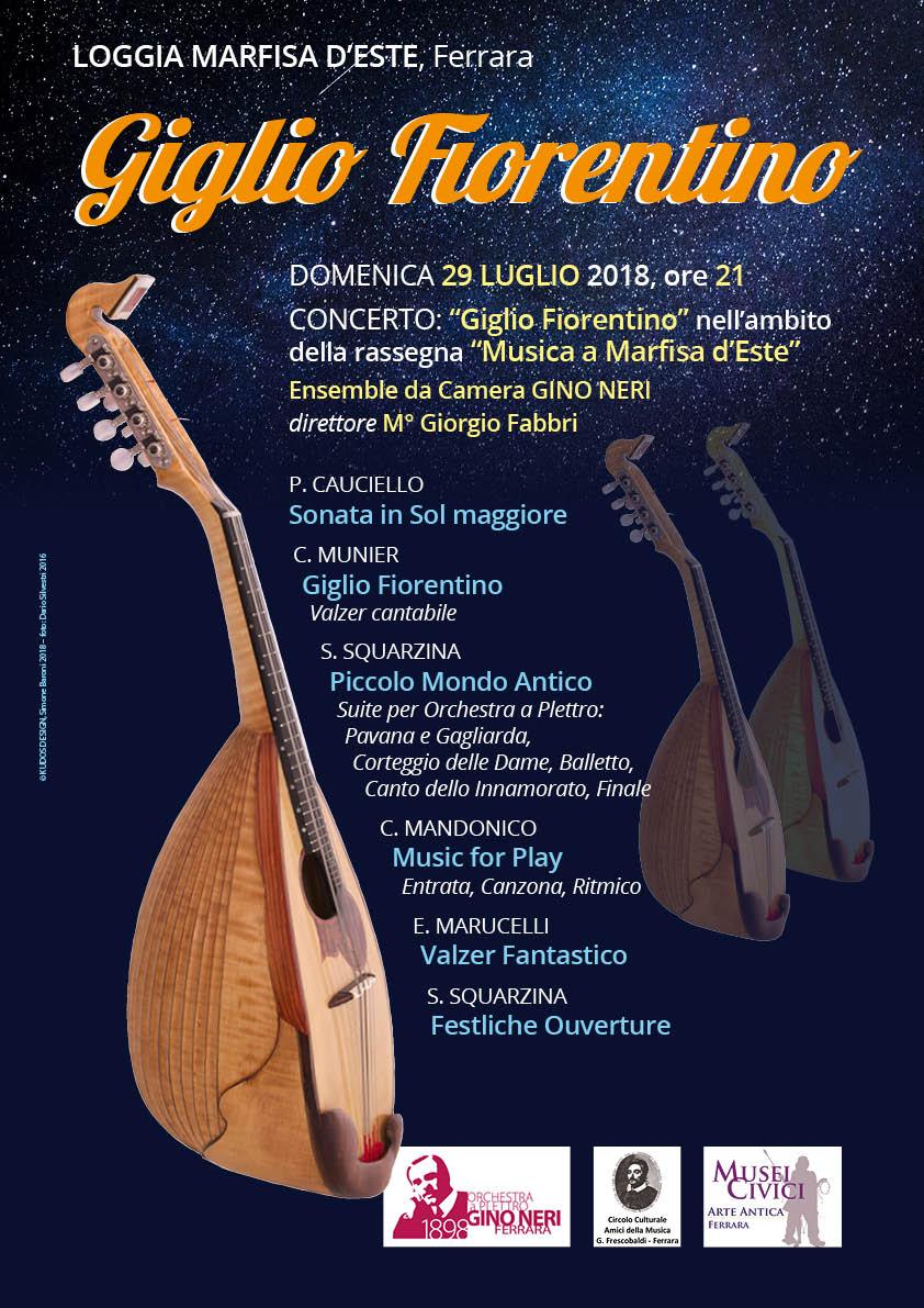 Concerto Giglio Fiorentino - locandina